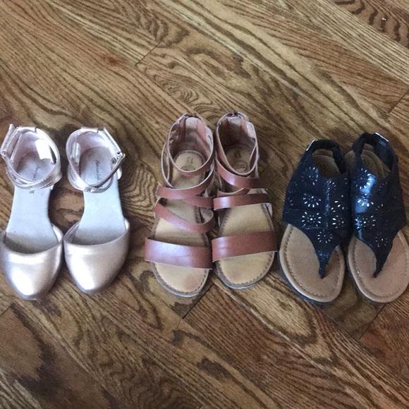 c2e1466595 Girls size 13 sandals lot